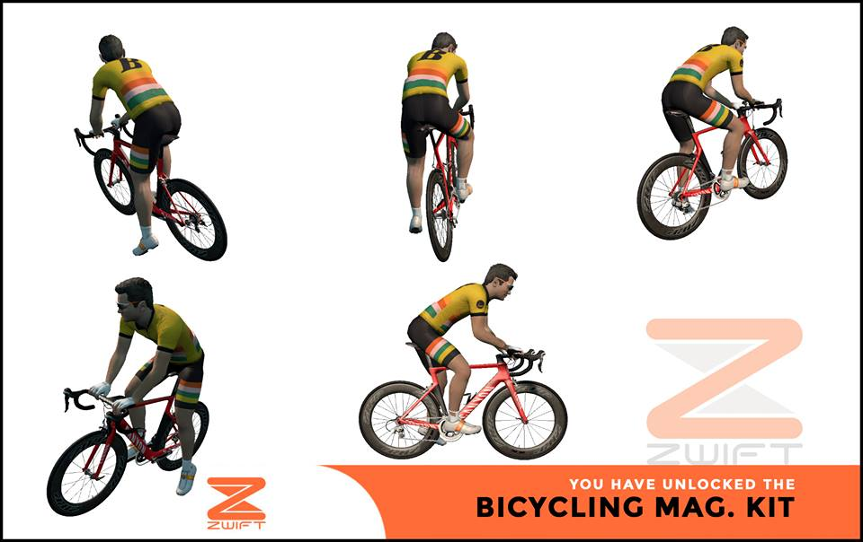 Bicycling ZWIFT(ズイフト) 全ジャージ入手方法、プロモコード一覧
