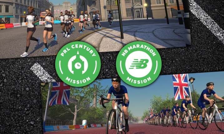 Prudential RideLondon Century Mission ZWIFT(ズイフト) 過去に行われた全27ミッション一覧