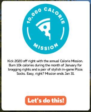 「10,000 Calorie Mission」2020年1月 ZWIFT(ズイフト) 過去に行われた全28ミッション一覧