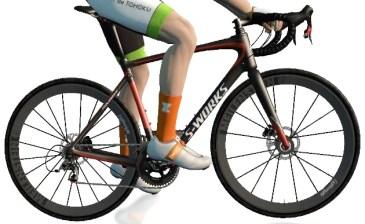ZWIFT(ズイフト) バイクフレーム入手方法 Specialized 『Roubaix S-Works』