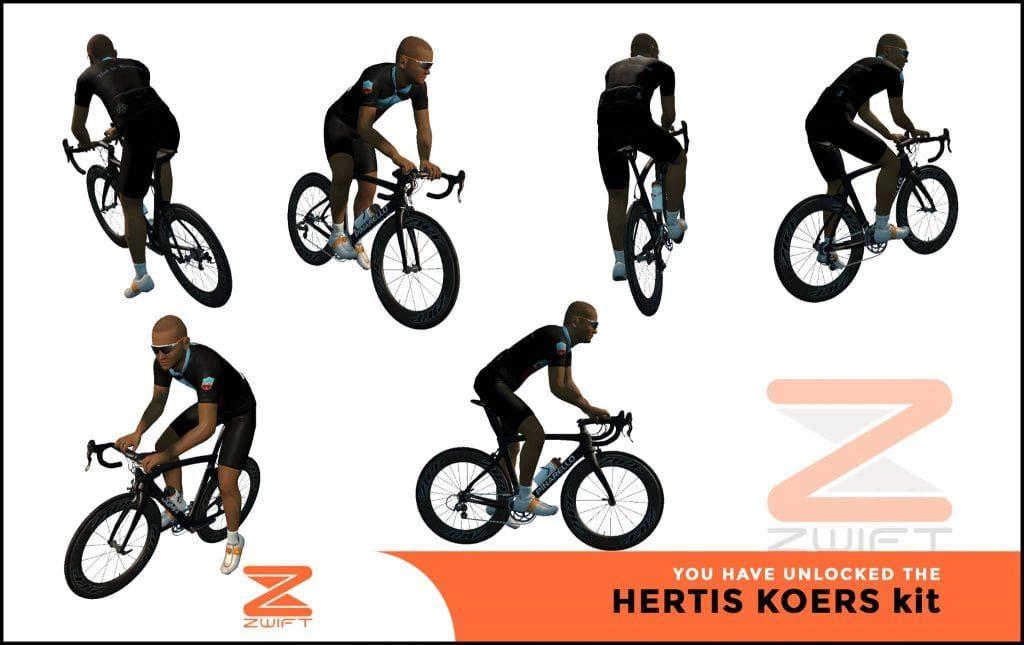hertis-koers ZWIFT(ズイフト) 全ジャージ入手方法、プロモコード一覧