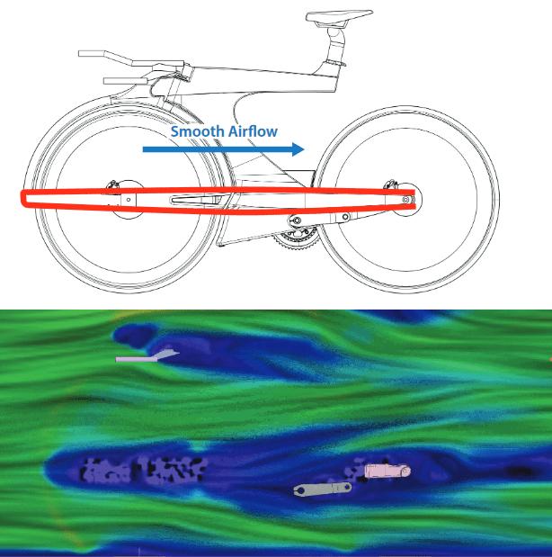 至上命題は「極限のエアロダイナミクス」 2019 CEEPO『SHADOW-R』フォークを排した近未来型TTバイク
