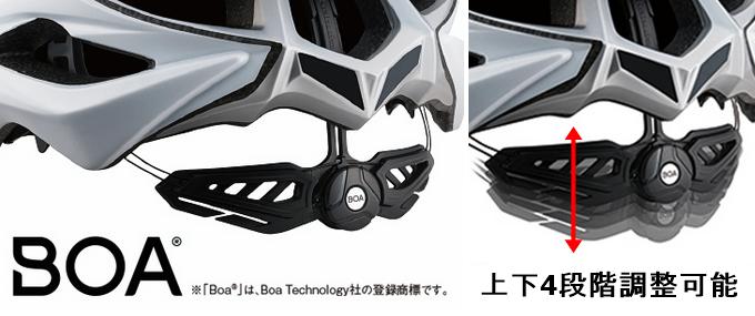 『Zenard』と『Zenard-EX』の相違点 アジャスター boa