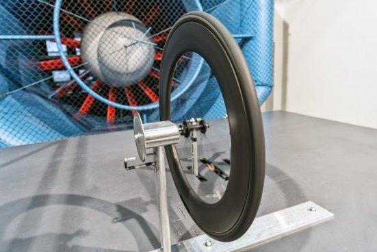 ロードバイクホイール 風洞実験