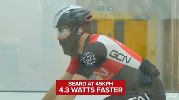 もじゃもじゃの髭 一歩進んだ5つのエアロ 空気抵抗 ロードバイク