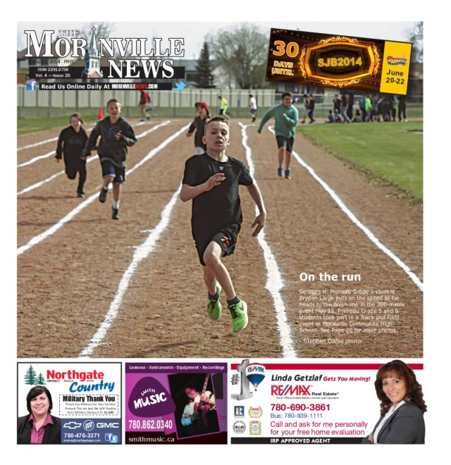 Morinville News Issue 24 - Cover