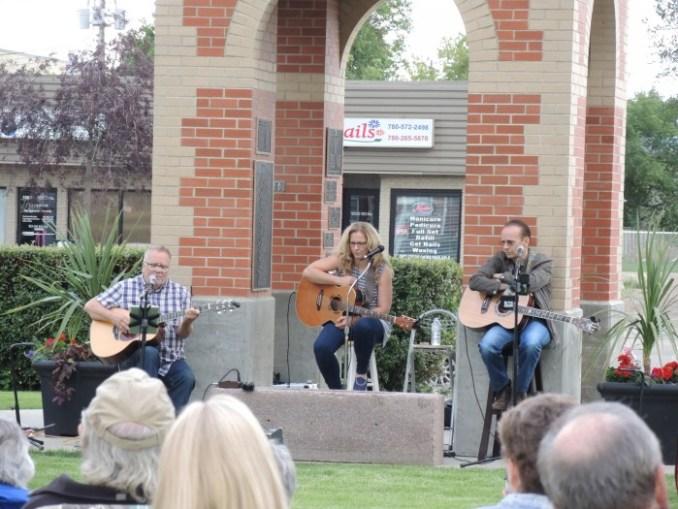music in park