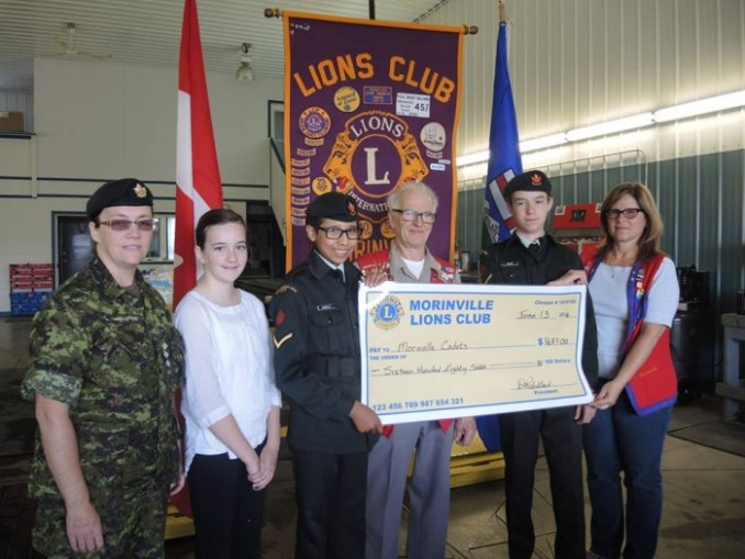 lions cheque