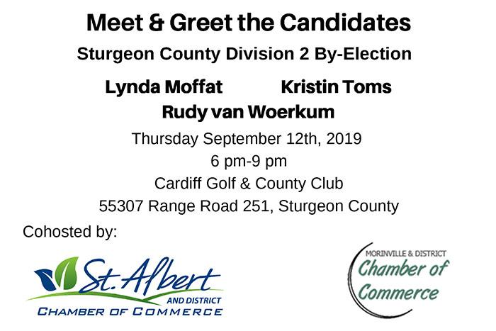 Meet & Greet the Candidates