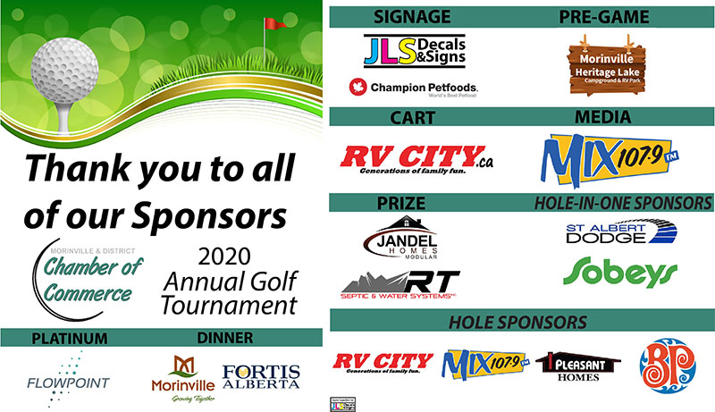 Stand Up Banner Proof – THANK YOU SPONSORS