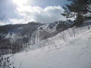 早池峰山アイオン沢