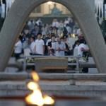 今日は広島平和記念式典
