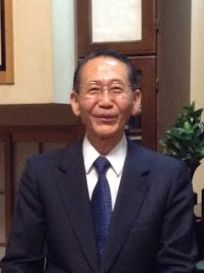 座談会に入って頂いた時の原田光治氏(2014.11.7)