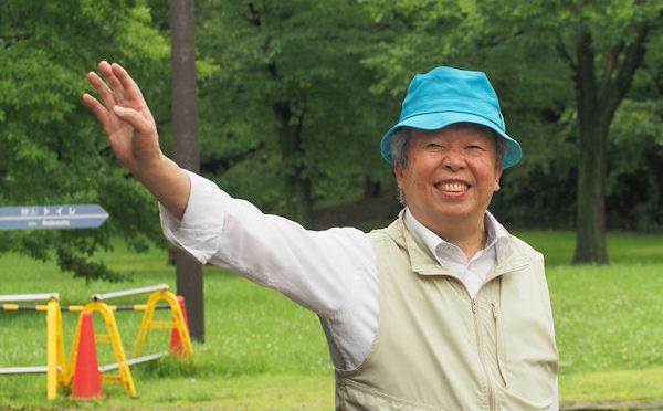 青い帽子のボランティア2年目