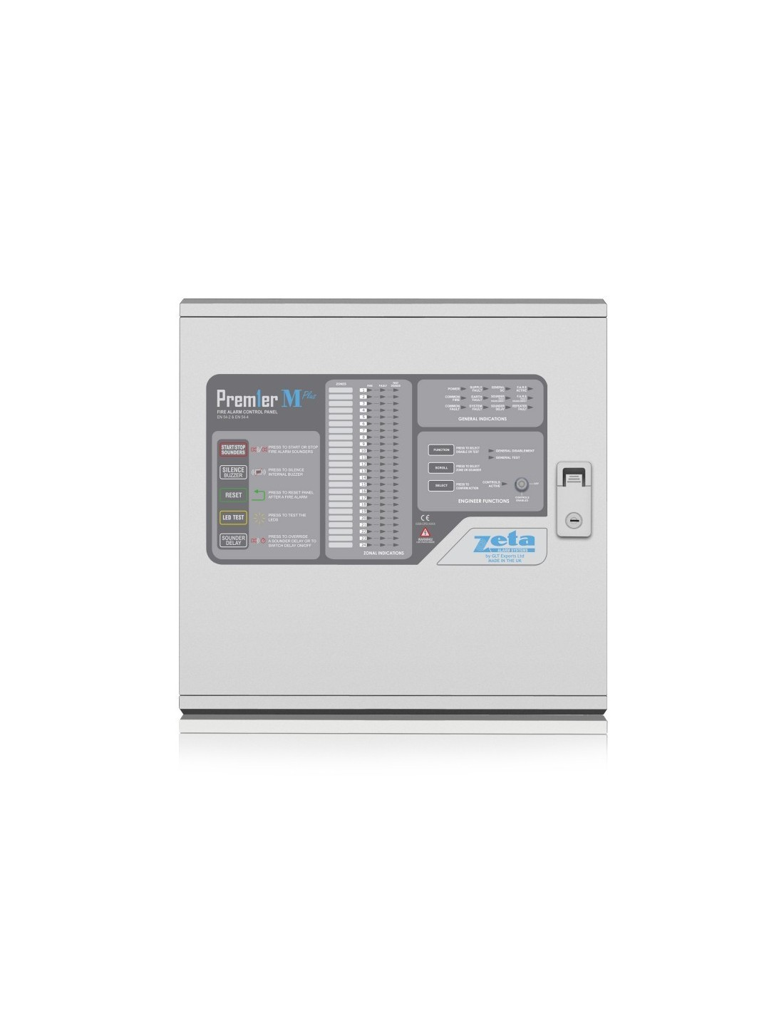 hight resolution of  premier m 16 zone panel the premier m plus 16 zone panel is the ideal