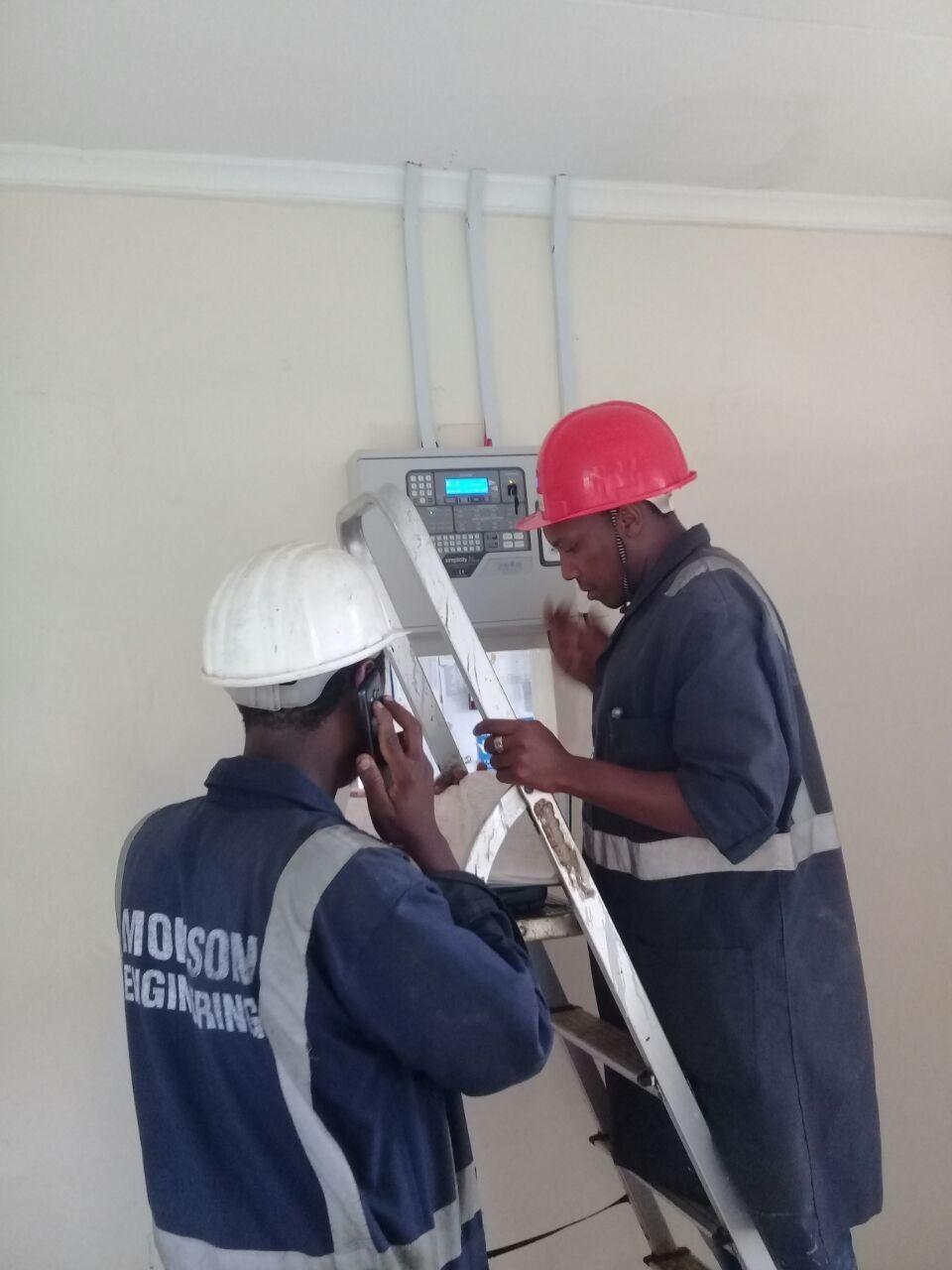 medium resolution of fire alarm installation james finlay saosa