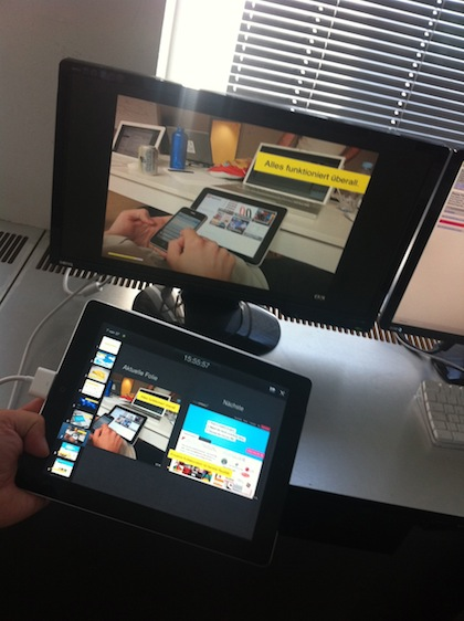 iPad Keynote Remote