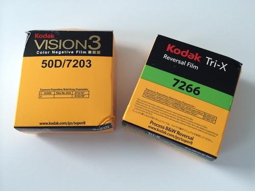 My Super8 8mm Experiment - Getting film material - mprecke