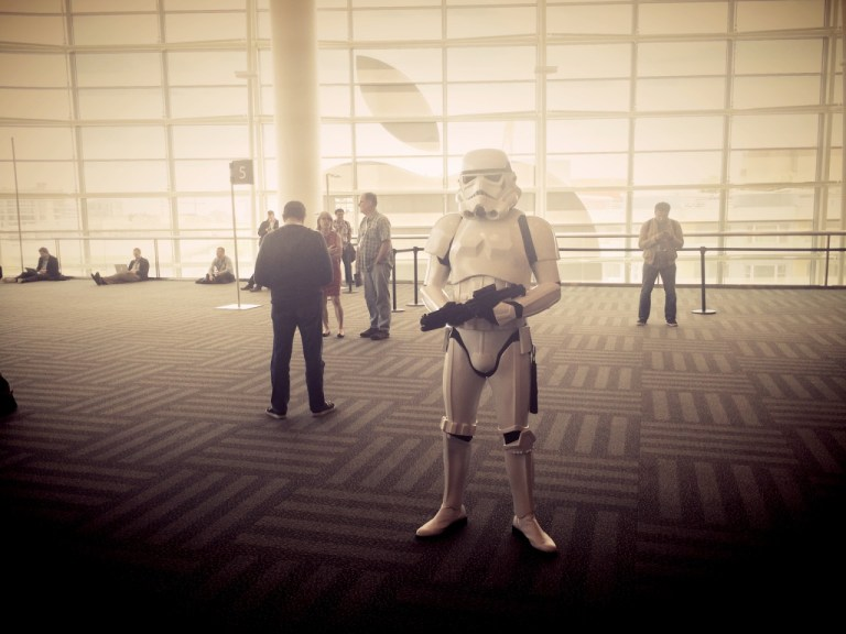 WWDC 2014 - Star Wars storm trooper