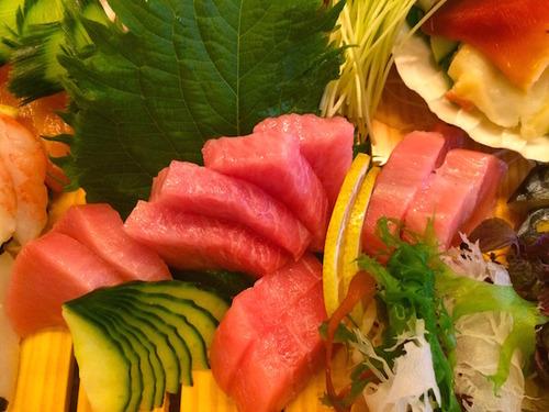Matsumi tuna sashimi