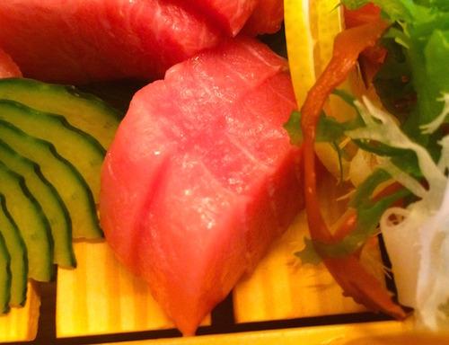 Matsumi tuna sashimi - Chūtoro