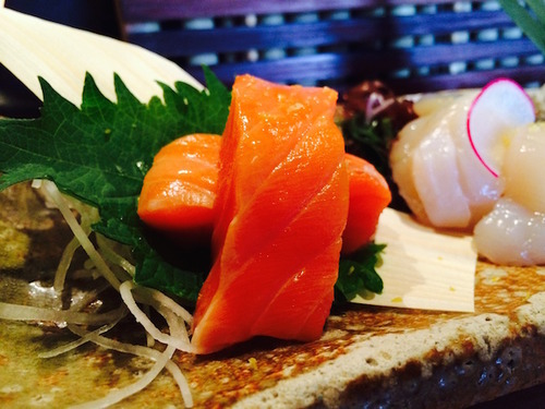 Sushi Ran - copper river king (wild king salmon)