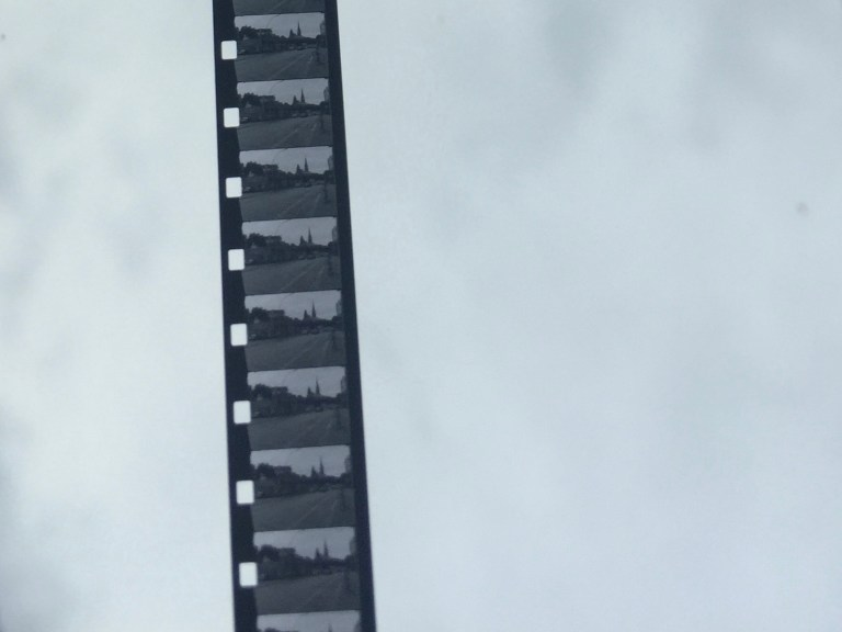 8mm - developed 8mm film material - 2