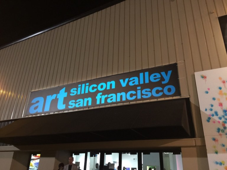 art silicon valley san francisco 2015 entrance