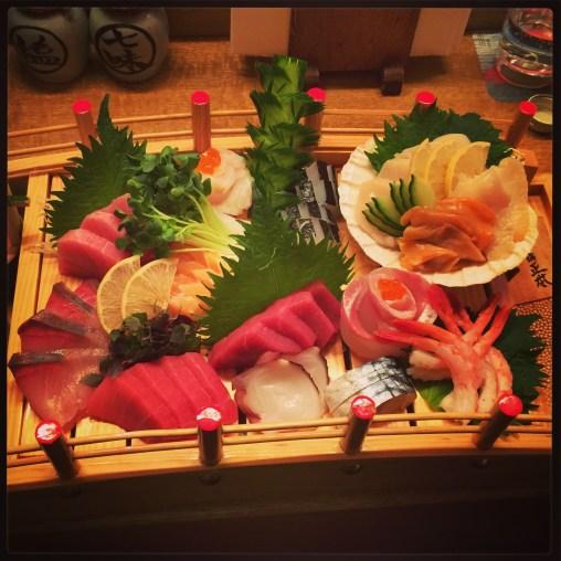 Matsumi - sashimi platter
