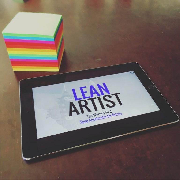 lean artist accelerator - Slides