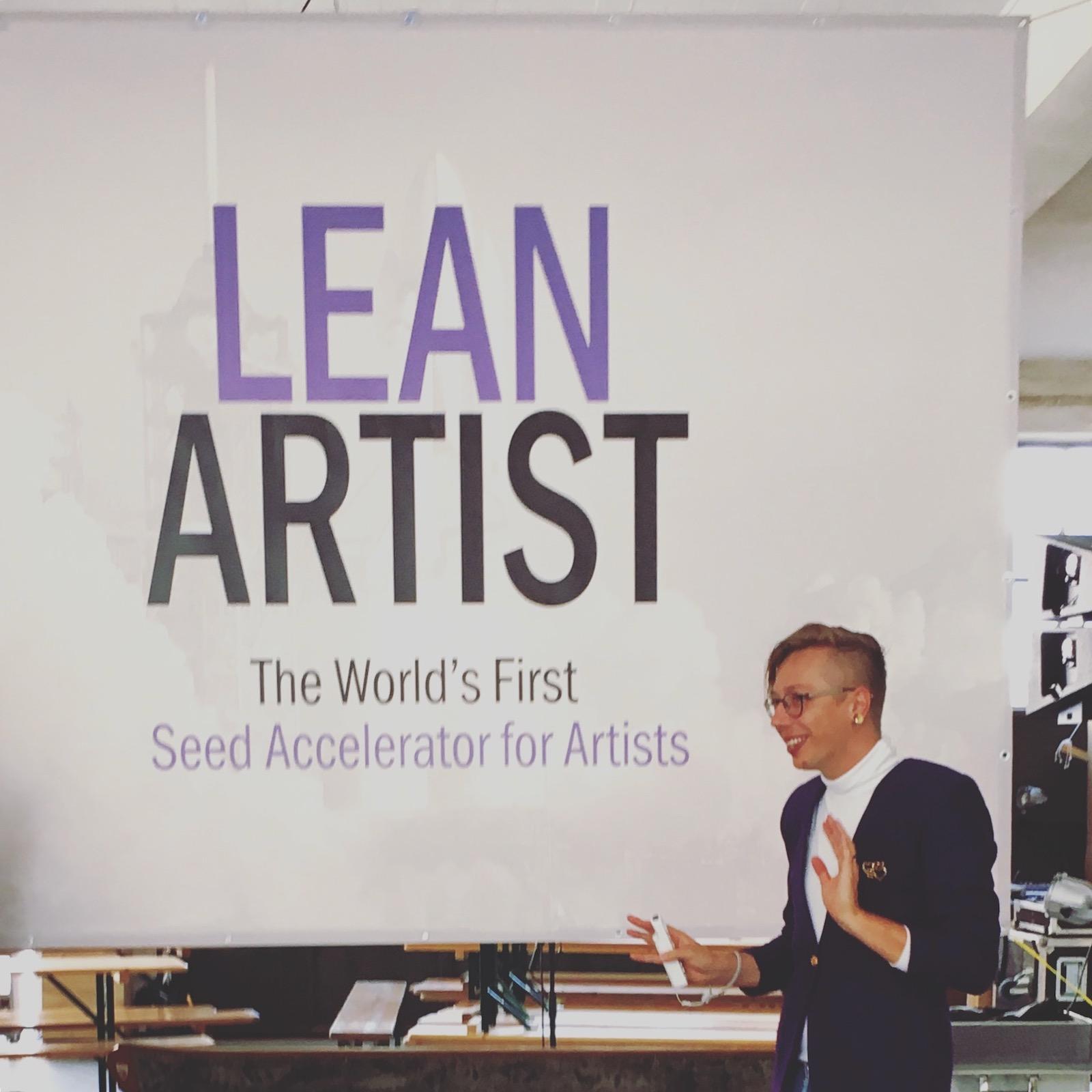 lean artist accelerator - Jeremy Bailey