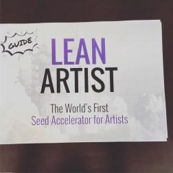 lean artist accelerator - Guide