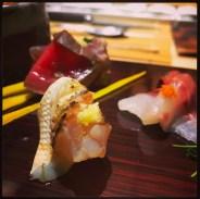 Sushi Ran - omakase - kamasu seared barracuda sashimi