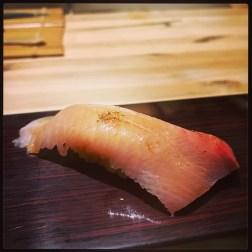 Sushi Ran - omakase - kinmedai golden eye snapper nigiri