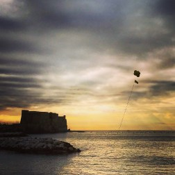 Castel dell'Ovo sunset