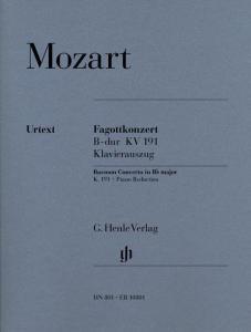 Konzert fuer Fagott und Orchester W.A. Mozart