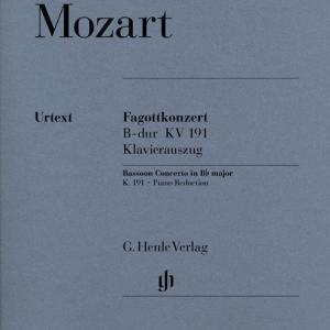 Konzert für Fagott und Orchester B-dur KV 191 - Fagottkonzert