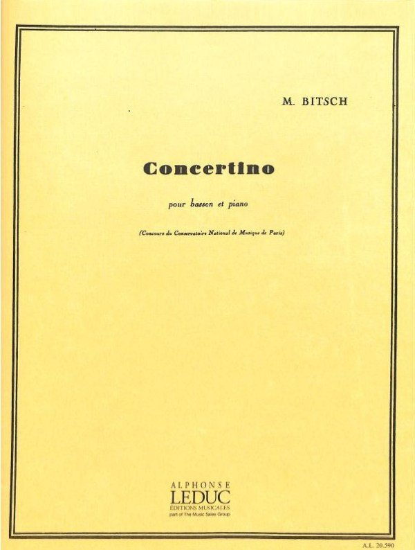 Bitsch Concertino