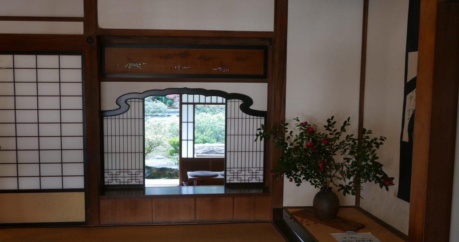 日本の美のひとつ借景