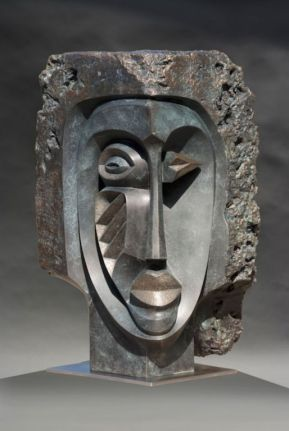 Abstract-Bust-1.48inch.bronze-2