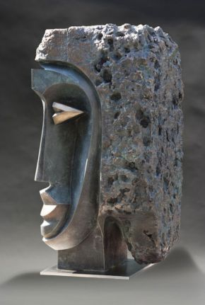 Abstract-Bust-1.48inch.bronze-8
