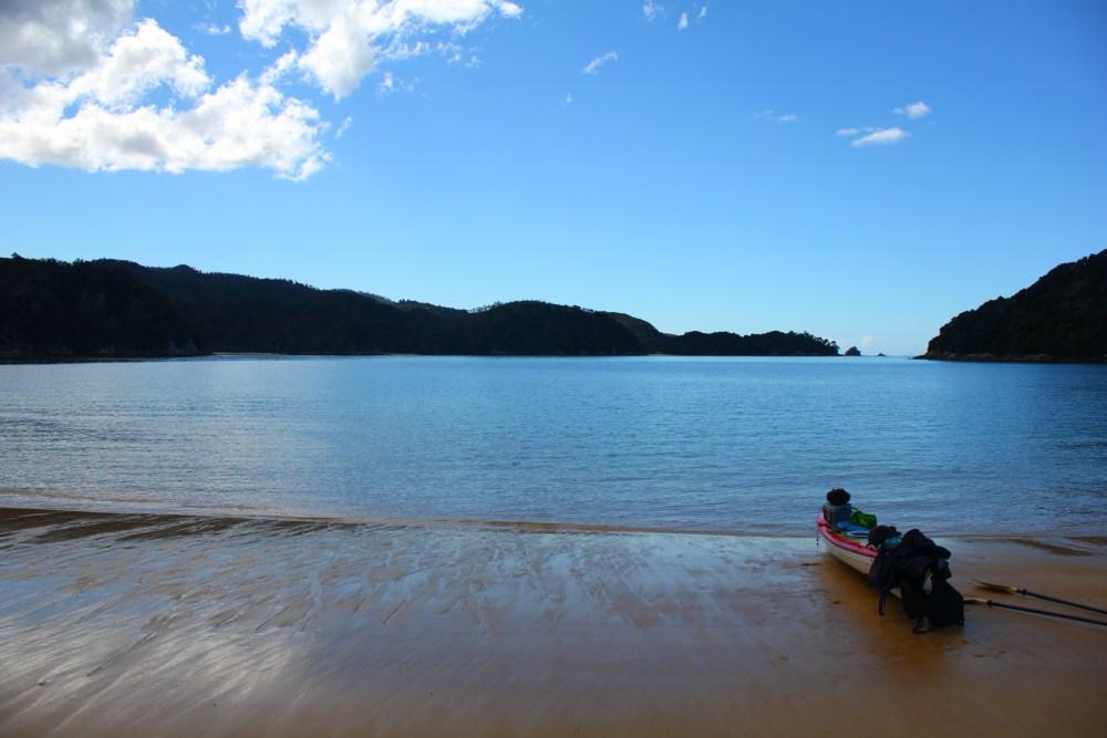 Día 10 Parque nacional de Abel Tasman, excursión en kayak! (3/6)