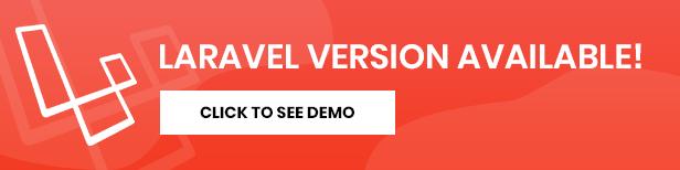 , Mormax – App Landing Page, Laravel & ReactJs