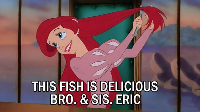 This fish is delicious Bro. & Sis. Eric mormonbuzzz.com