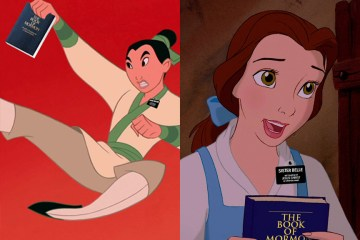 If Disney Princesses Were Sister Missionaries