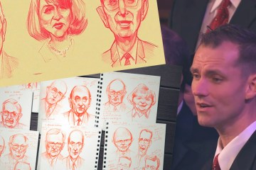 This Choir Member Sketches During Conference, and the Results are Stunning!