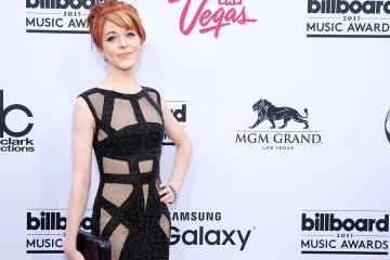 Lindsey Stirling's Billboards Dress Doesn't Matter