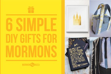 6 Simple DIY Gifts for Mormons