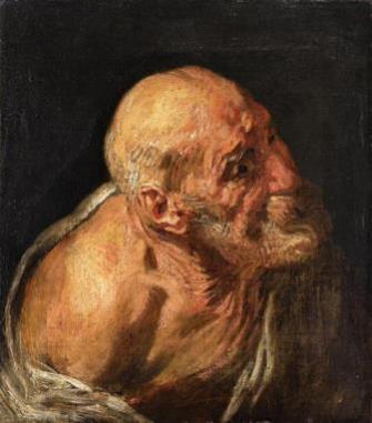 10_Jacob Jordaens_Studie van een oude man_M
