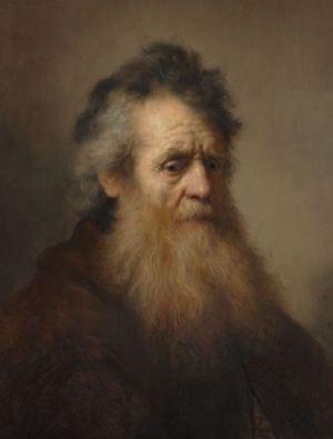 1_Rembrandt_Portret van oude man_L